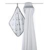 cotton gauze bag bathrobe white canada home textile