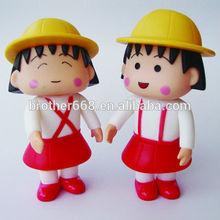 Plastic action figure, custom pvc VINYL TOY figure. pvc toy figure , 3Dpvc carton dolls