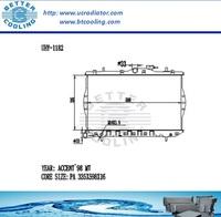 Auto Radiator For HYUNDAI ACCENT 98 MT OEM:25310-22050/25310-22070