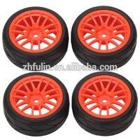 OEM Custom plastic wheel for toy car