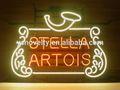 ستيلا ارتواز جديد النيون الزجاج الجعة البلجيكية الحقيقي
