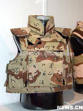 6 dedert color de camuflaje de kevlar body armor