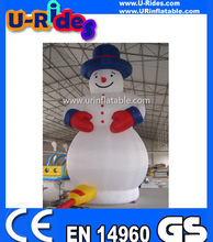 inflatable christmas snow man
