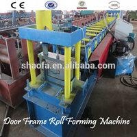 hollow metal Door Frame roll forming machine