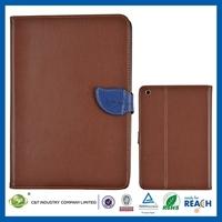Multi-function for ipad mini leather folding case