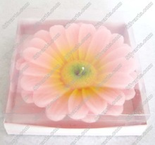 flower shpe floating candle