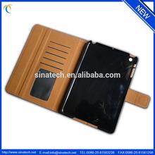 Super quality OEM rainbow leather case for ipad mini