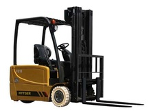 2.0 ton HYTGER good sale (3 wheel) new electric forklift / vehicle with block clamp