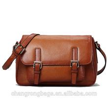 2014 fashion and designer high quality genuine leather messenger bag