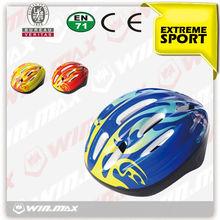 Fashion durable construction bike helmet for kids, kids bike helmets