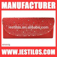 Crystal dot clutch bag ladies' handbag at low price made in china cb033