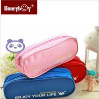 Hot sale cute bear delicate large capacity pen bag/pencil bag
