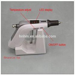 Dental cordless gun+pen obturation system apex locator