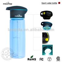 Mountop brand monopolization patent multifunction sports drink bottle with straws