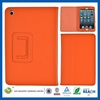2014 updated style pu book style flip leather case for ipad mini