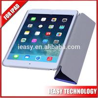 New Folding Smart Filp Case For iPad Mini 2 pu leather stand case for ipad mini
