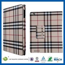 2014 the new unique Excellent fashionable case for ipad mini belt leather case