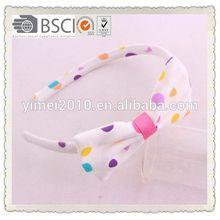 charm fabric covered plastic headband,fabric covered headband