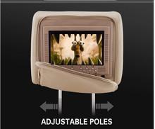 "New UI 9""Headrest car DVD player for touch screen headrest dvd player in car"