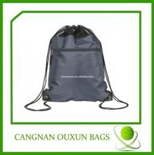 2014 personalized black drawstring bags,football drawstring bags,wholesale nylon drawstring bag