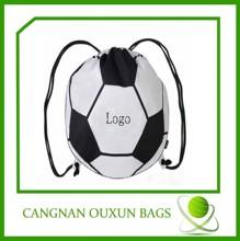 2014 personalized wholesale nylon drawstring bag,soccer drawstring bag,cheap drawstring sport bag