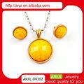 made in china colares e brincos de conjunto 2015 tamanho grande jóia acessórios femininos china colar