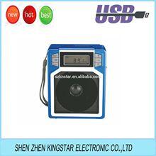 cheap digital FM portable radio with usb sd card