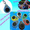 2014 new arrival waterproof bluetooth shower speaker outdoor portable bluetooth speaker