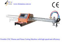portable cnc plasma/flame cutting machine/cnc metal plasma cutting machine