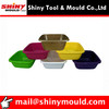 High Grade 6 Litre Medium Square Plastic Washing Up Bowl Mould