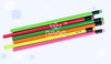 Personalized Neon Pencil HB Wooden Fluorescent Pencils