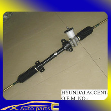 auto parts hyundai, korean hyundai spare parts steering rack ACCENT/EXCEL/VERNA/GIRO 56500-24110/ 56510-22000