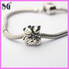 Mouse Shape Animal Charm Beads Fit for european snake chain bracelet