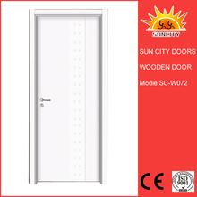 SC-W072 Teak wood main entrance door designs