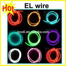 Super brighter!!!Electroluminescent Tape EL Tape Blue & EL Wire 12V Inverter