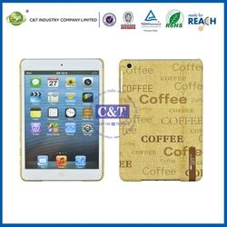 2014 new arrival hot sale for ipad mini pc plastic case
