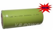 VB NiMH G size 25000mAh 1.2V battery