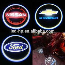 LED Door Shadow light Logo Car Door Step laser projector for Chevrolet