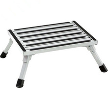 Aluminum Folding Platform Non Skid Safety Step RV Camper Bus Van Auto Medical