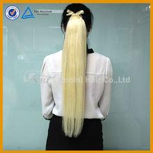 ponytail hair extension wrap around human hair ponytail