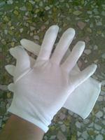 Cheap white cotton glove