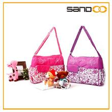 wholesale changing bag high quality mummy bag flowers diaper bag