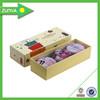 Custom printed magnetic closure or slide cardboard pencil box
