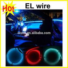 Super brighter!!! New Generation EL wire advertisement,chasing EL wire