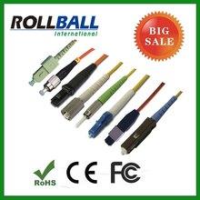 PVC LSZH duplex fiber optic patch cord