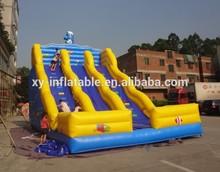 Happy hop inflatable slide/inflatable toboggan slide/china inflatable slide