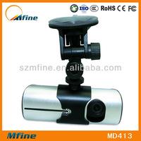2.7 dual driver recorder hd car dvr camera with gps and G-Sensor