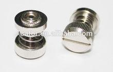 China twist spring bolt manufacturer, CNC machining fastener manufacturer