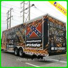 Matte 3M vehicle/ trailer/ car/ bus advertising sticker printing