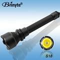 Brinyte longa distância 500 m Cree Led recarregável lanterna poderosa para caça